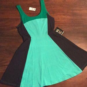 NWT Express Color Block Dress
